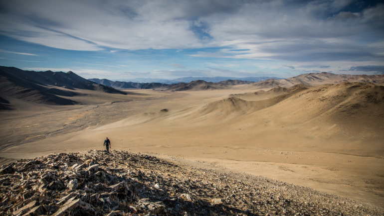 The vast eternal landscapes of Mongolia