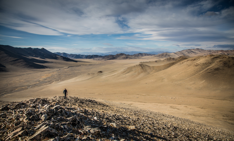 The vast eternal landscapes of Mongolia